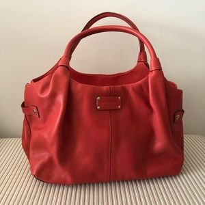 Kate Spade Red Leather Purse EUC